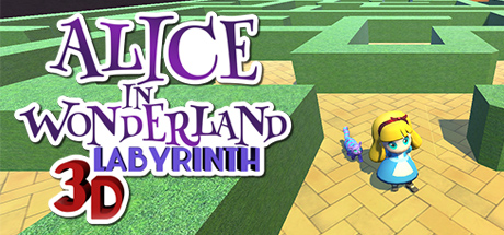 Alice in Wonderland - 3D Labyrinth Game