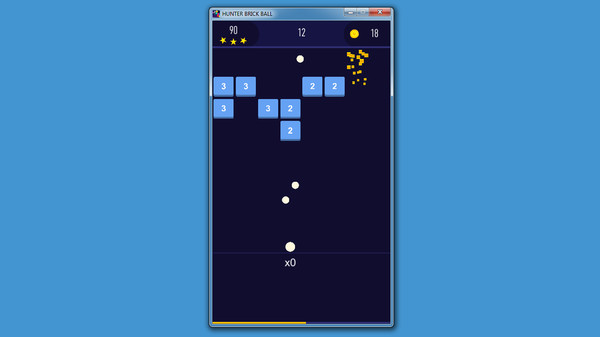 HUNTER BRICK BALL Screenshot