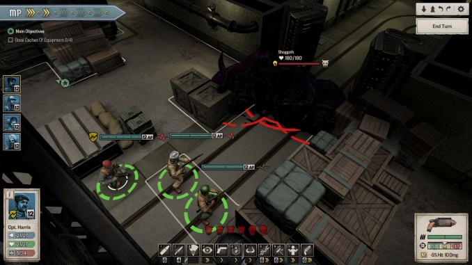 Achtung! Cthulhu Tactics Screenshot 1