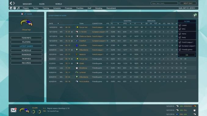 Pro Basketball Manager 2019 Screenshot 2