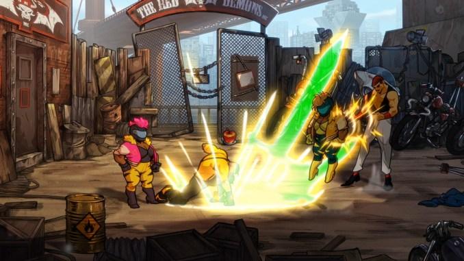 Streets of Rage 4 Screenshot 2