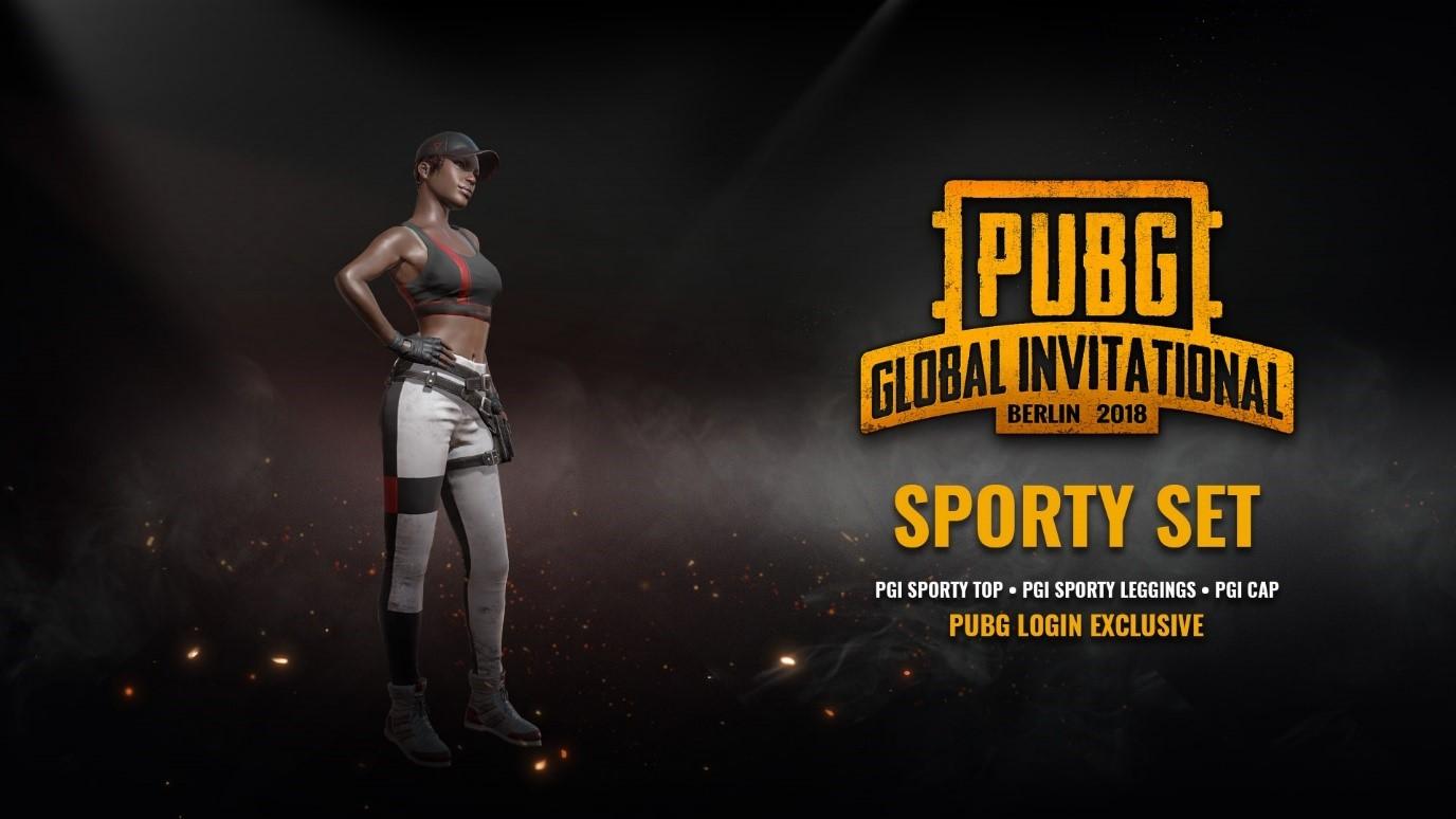 Pubg Pgi Wallpaper Playerunknown S Battlegrounds Get Your Free Pgi Sporty Set
