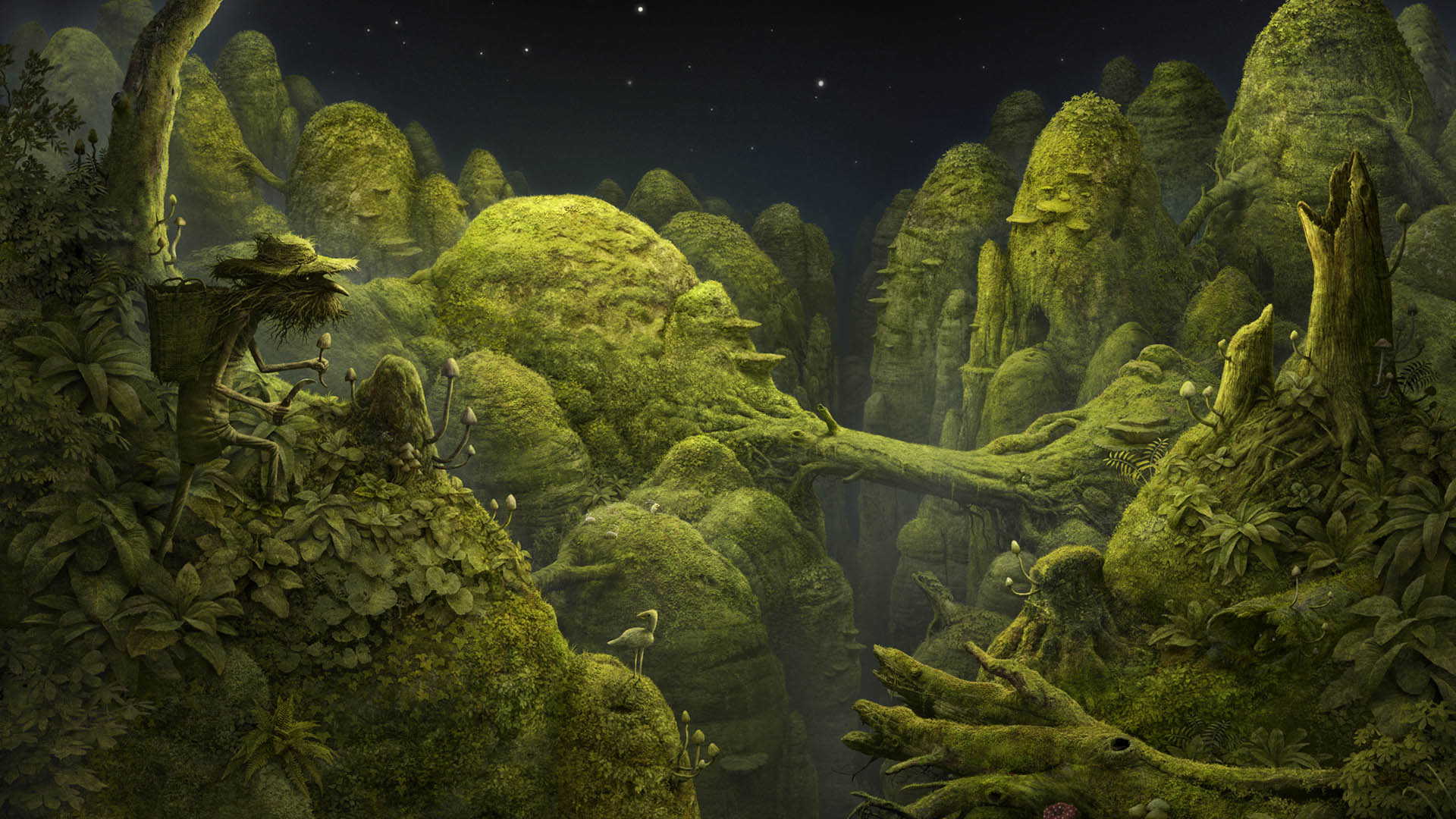Mythical Creatures In The Fall Wallpaper Showcase Samorost 3