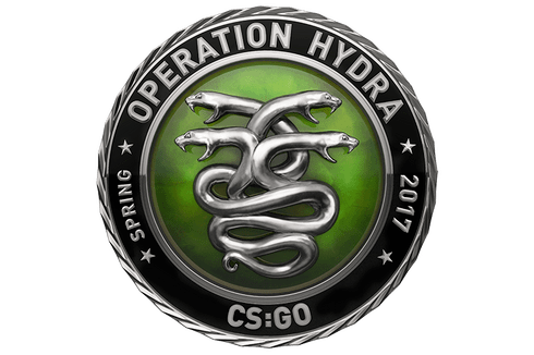 Silver Operation Hydra Coin