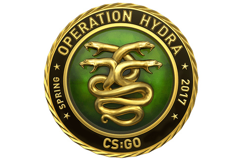 Gold Operation Hydra Coin