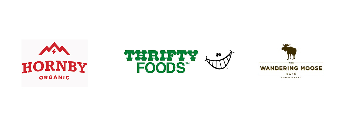 Hornby Organic, Thrifty Foods & Wandering Moose sponsoring DCX