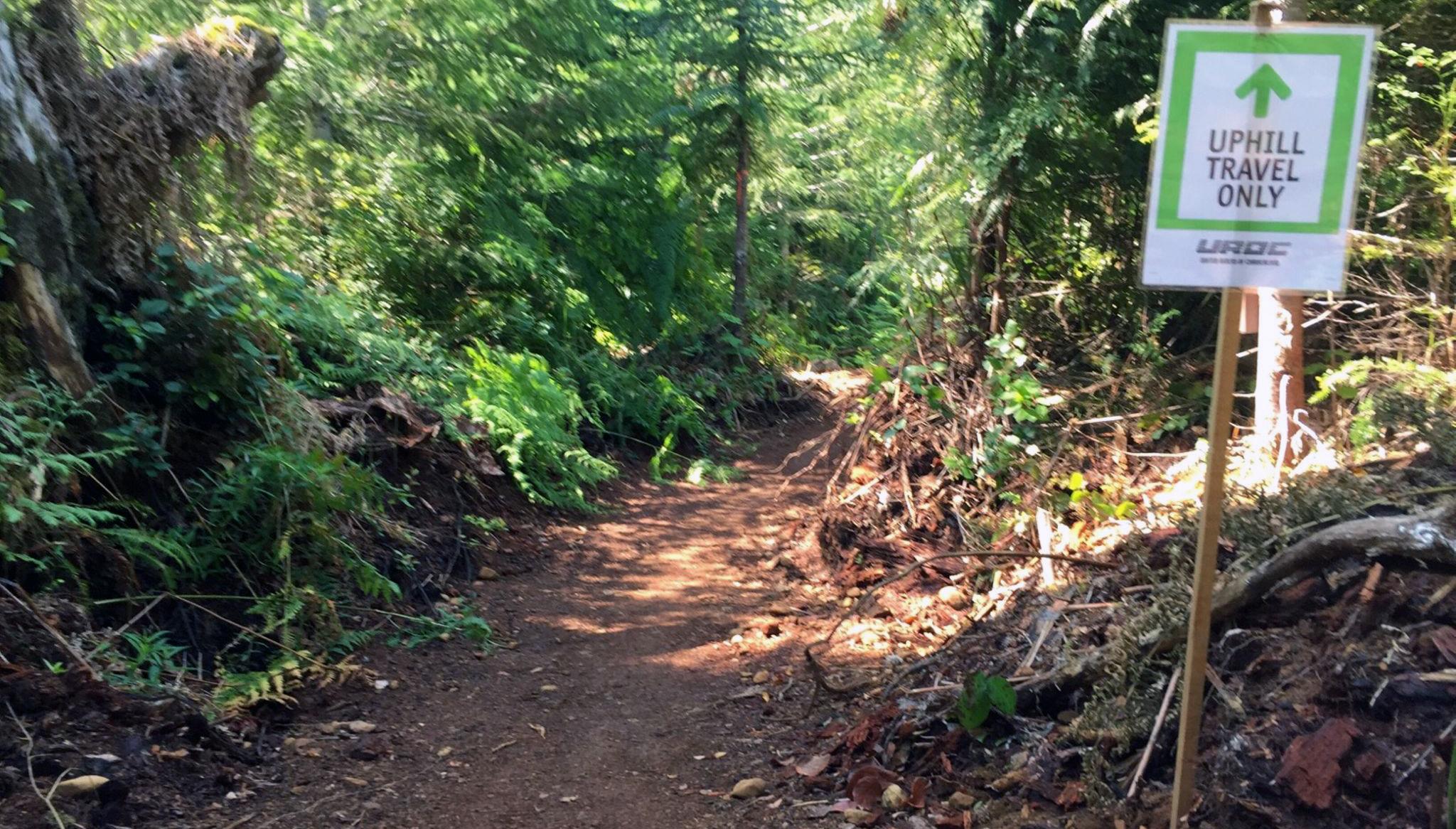Trail Bicycles Bike Course change: climbing trail