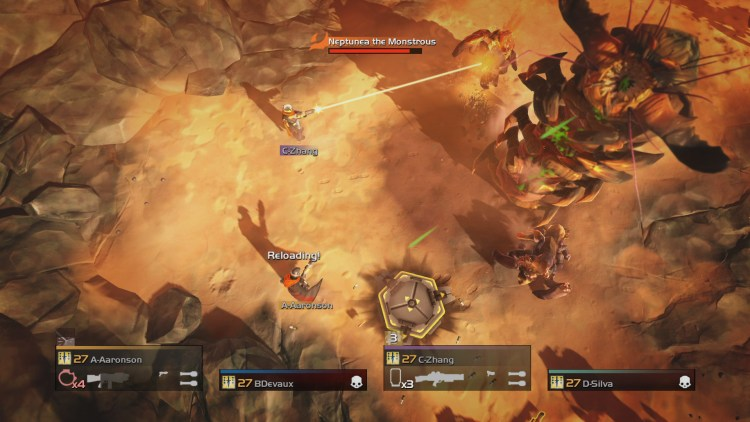 HELLDIVERS boss bug hive lord