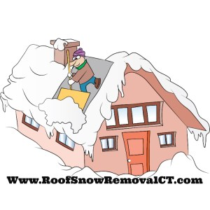 Roof snow removal cartoon