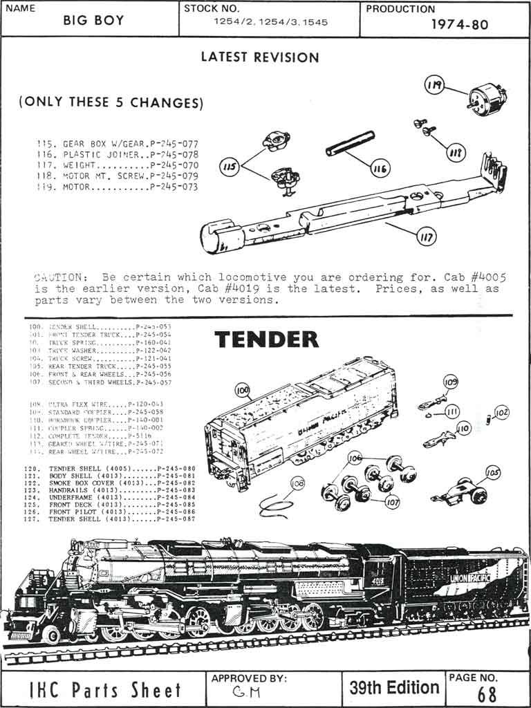 medium resolution of 1969 big boy schematics