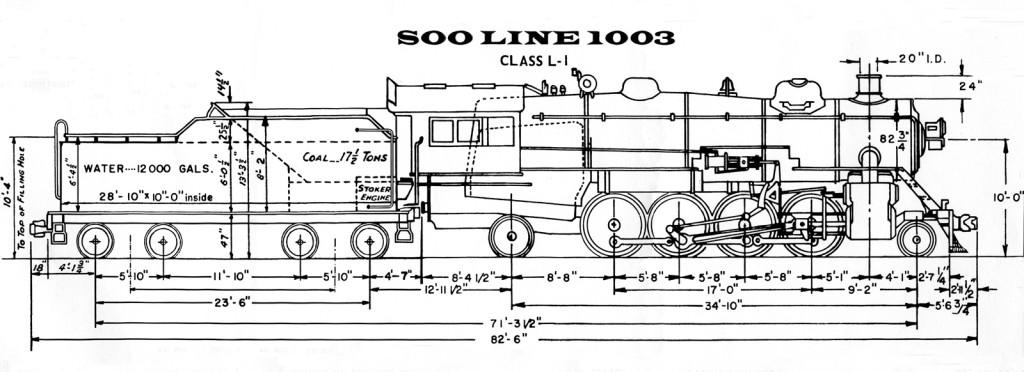 Soo Line #1003 | Steam Locomotive Heritage Association