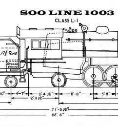soo line 1003 steam locomotive heritage association ge locomotive cab locomotive cab diagram [ 1600 x 582 Pixel ]