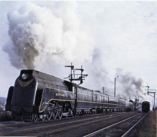 Likes Steam Train