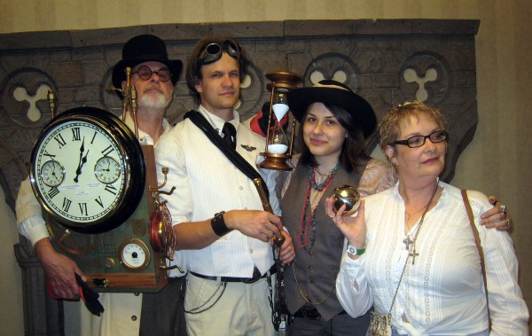 Steampunk Family Michigan Time Travelers Wife