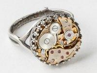 Steampunk Watch Rings  Jewelry