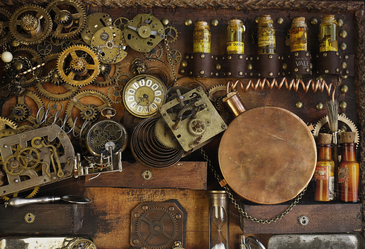 The Gear Swap at the Steampunk Rendezvous