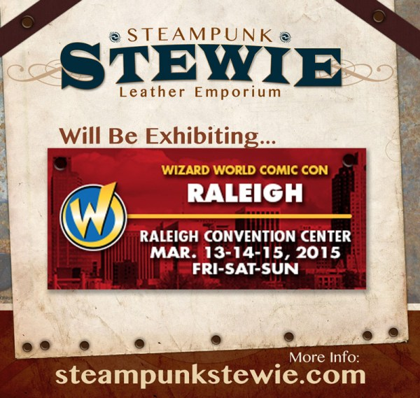 SteampunkStewie at 2015 Raleigh ComicCon