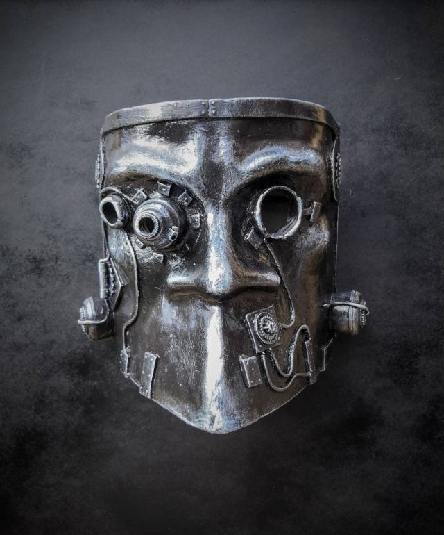 Steampunk Bauta Mask