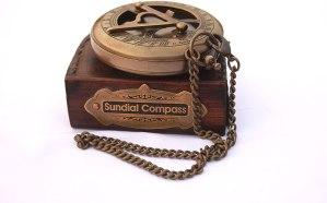 Brass Sundial Compass. 4