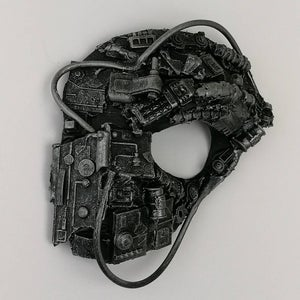 Steampunk Cyberpunk borg style mask 3