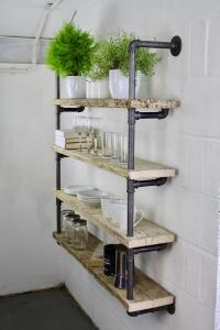 Steampunk Industrial style Shelf unit 2
