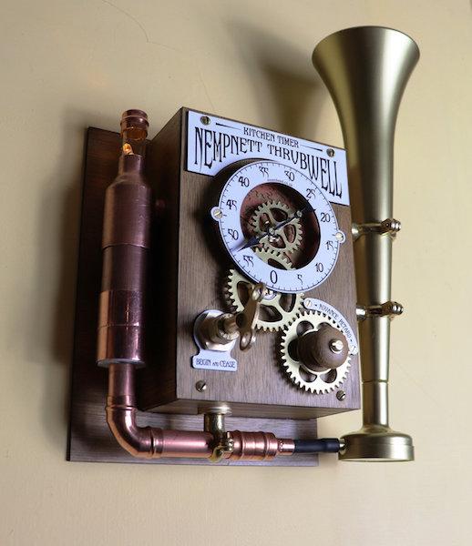 Build your own Nempnett Thrubwell Steampunk Kitchen Timer.