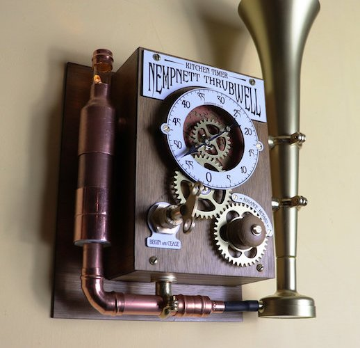 Build your own Nempnett Thrubwell Steampunk Kitchen Timer.