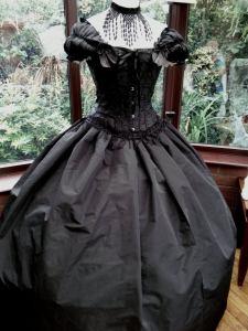 Victorian Steampunk Style Wedding dress.