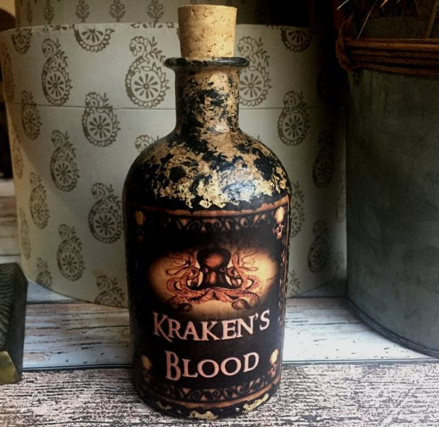 kcaken blood bottle