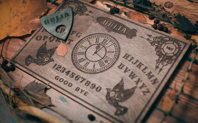 Steampunk Themed Ouija Board. 1