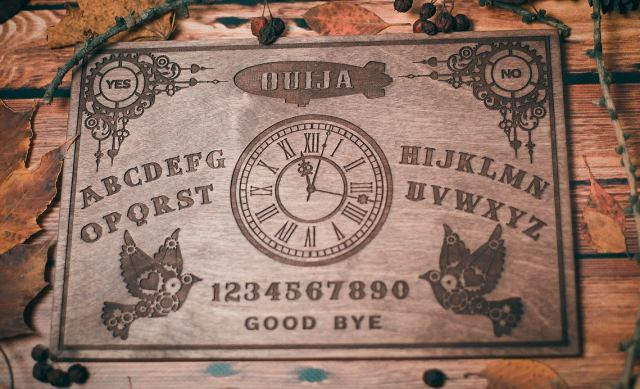 Steampunk Themed Ouija Board. 2