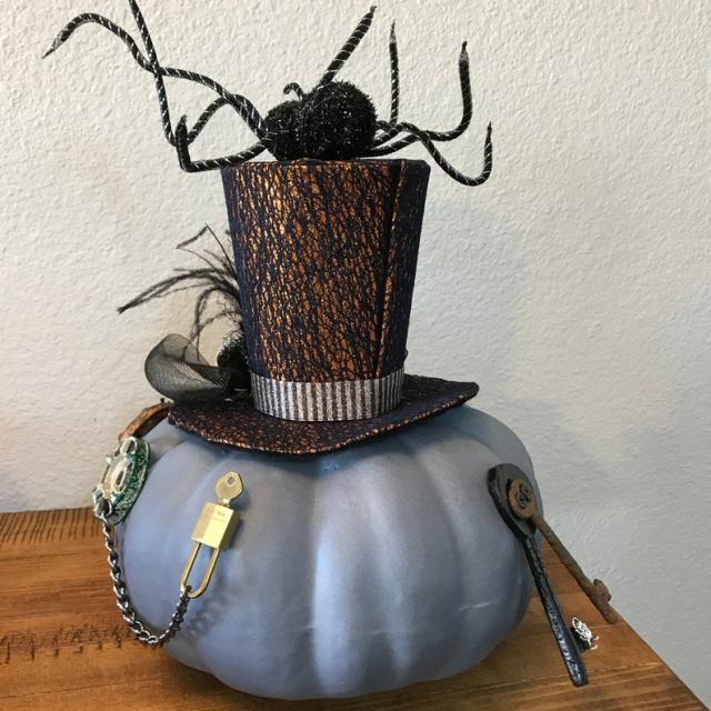 Steampunk Spider Pumpkin Robot. 2