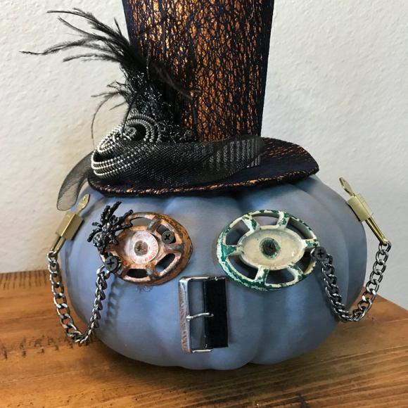 Steampunk Spider Pumpkin Robot. 3