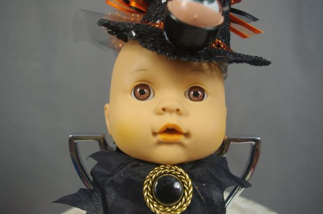 Creepy Steampunk Halloween Doll. 2