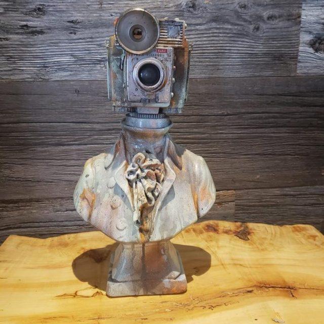 Amazing Vintage Camera Robots by Paul McCue. Amazing Vintage Camera Robots by Paul McCue.