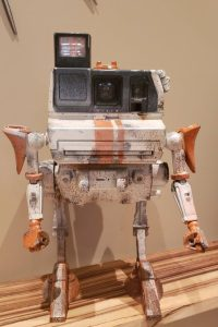 Toybashed Vintage Camera Robot bust Amazing Vintage Camera Robots by Paul McCue.