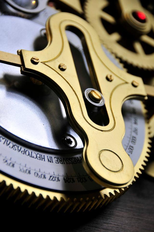 The Barometric Prognosticator 3 Working Steampunk Weather Machine 4