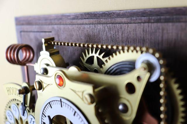 The Chronograph Steampunk Clock  5