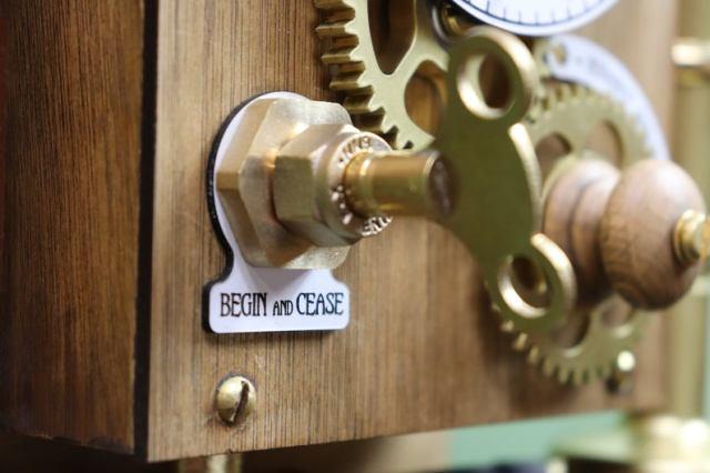 The Nempnett Thrubwell Steampunk Kitchen Timer Kit  turn key