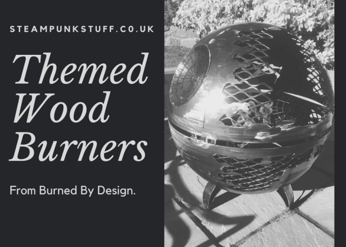 Themed Wood Burners From Burned By Design. blog banner