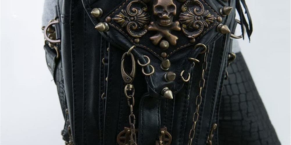 Steampunk Leg/Hip Bag/Purse.