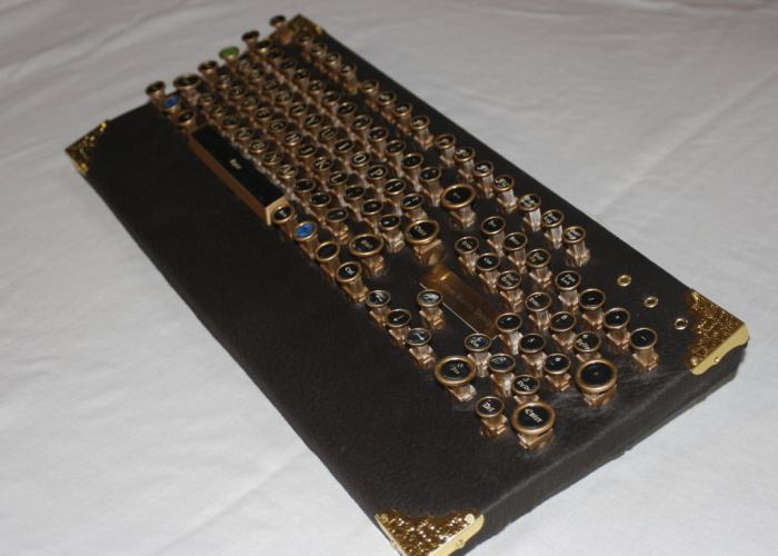 "steampunk PC keyboard ""classic"""