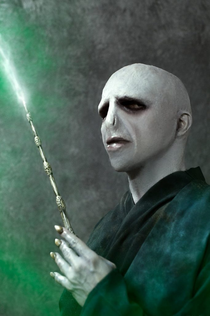 Lord Voldemort full costume with silicone mask. Made to order by SaoCraftCo.