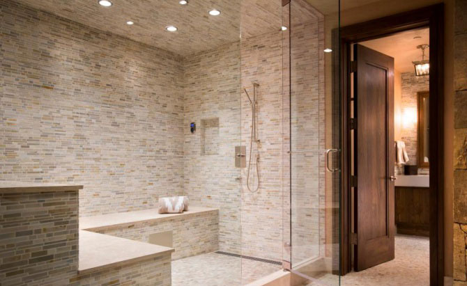 What Tiles To Use With Steam Showers?