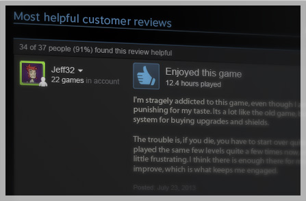introducing steam reviews