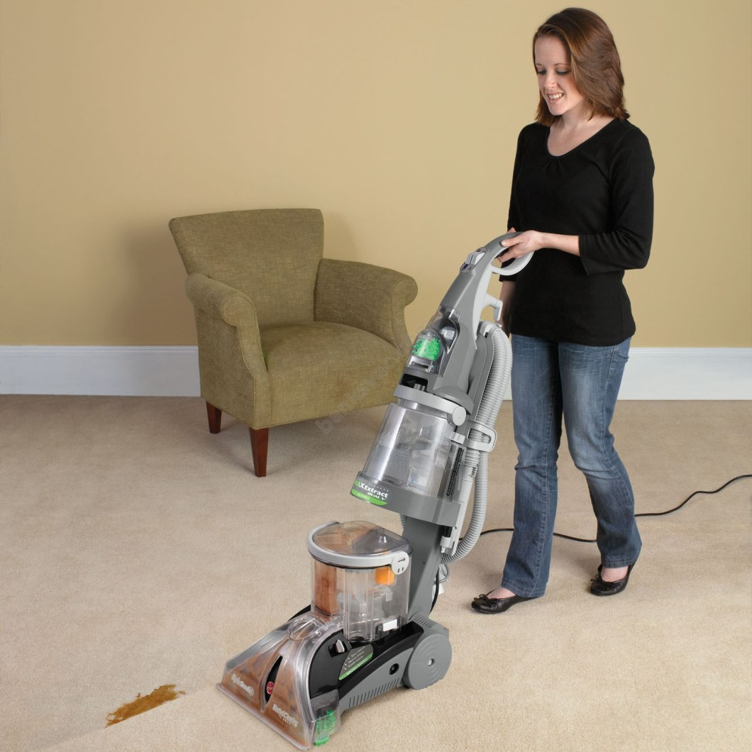 hoover dual power plus carpet washer manual