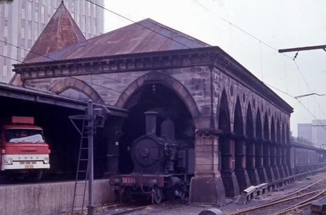 3130 steam locomotive sydney terminal mortuary station