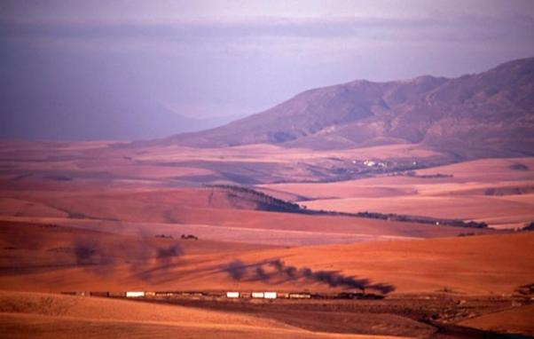 caledon south africa steam train GEA garrat