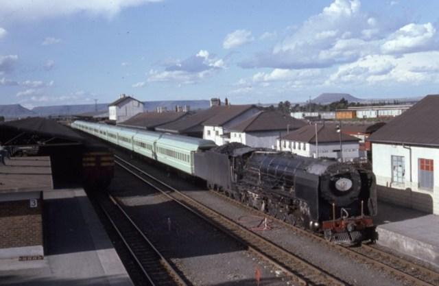 25NC steam locomotive kimberley de aar south africa