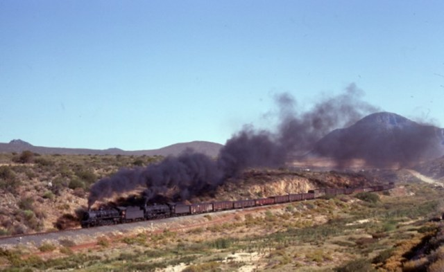 19C south africa steam train locomotive